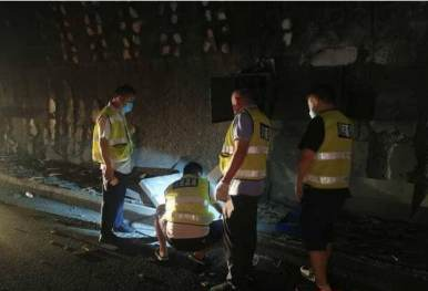 都汶高速隧道因车祸受损 需要封闭施工到端午节前
